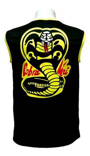 camiseta regata cobra kai