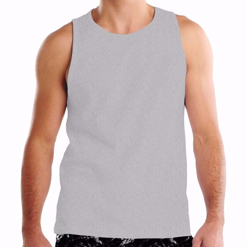 bcdbc89880a75 camiseta regata cores 100% algodão - fio 30.1. Carregando zoom.