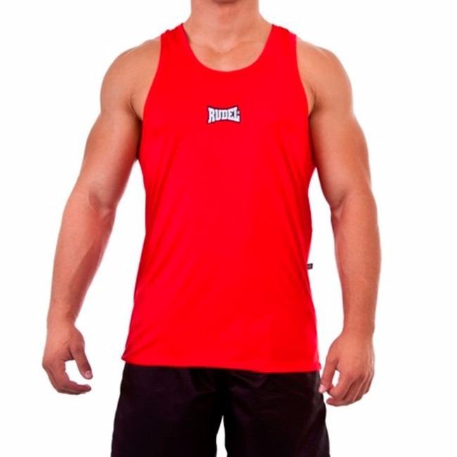 3e04a7f012d87 Camiseta Regata Dry P musculação - Vermelha - Rudel - R  33