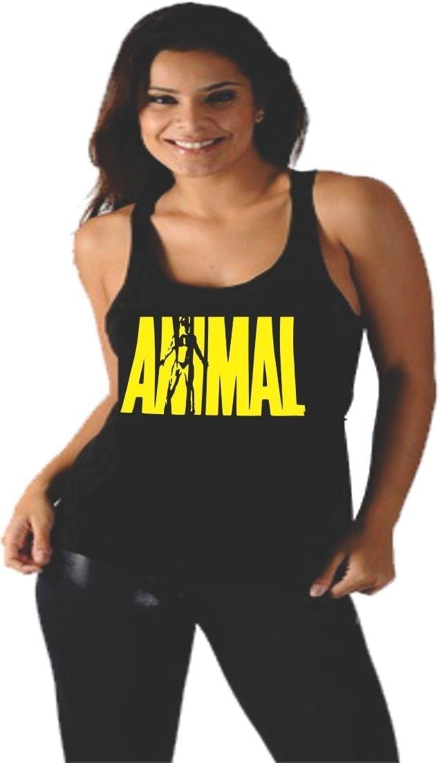 b20696c8a985b camiseta regata feminina academia musculação animal top. Carregando zoom.