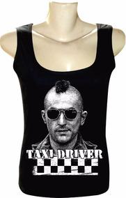 afcd130058 Camiseta Regata Feminina Bandas Filmes Taxi Driver