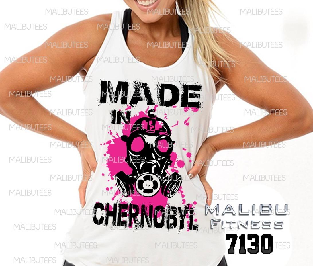 16d2ffb1c8 camiseta regata feminina chernobyl academia gym ref7130. Carregando zoom.