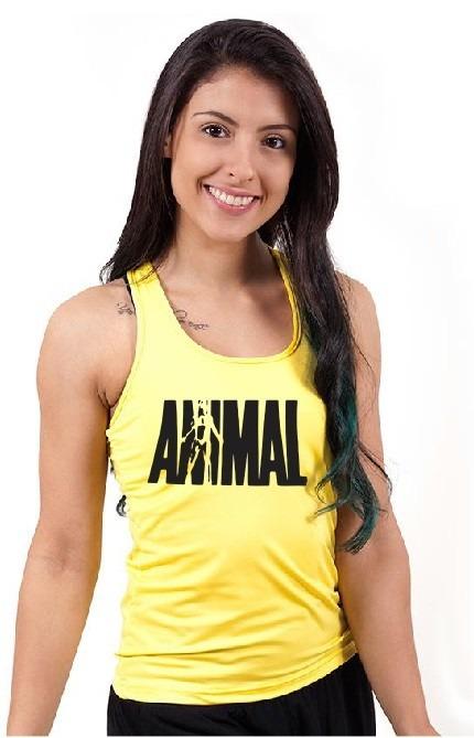Camiseta Regata Feminina Fitness Academia Cavada Nadador Top - R  21 ... a6a03a63f76