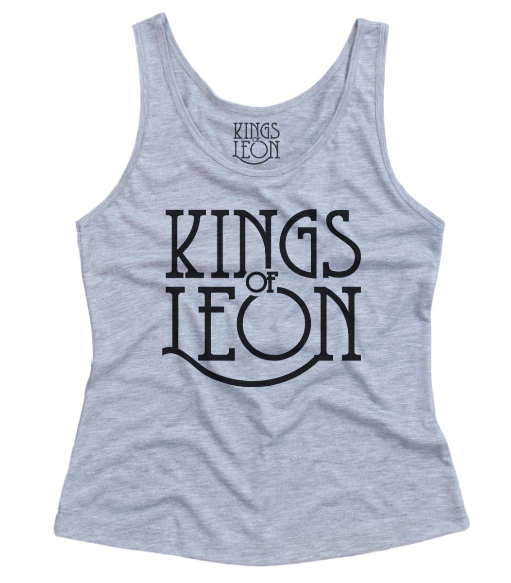 1d8d7288f527 camiseta regata feminina kings of leon banda rock. Carregando zoom.