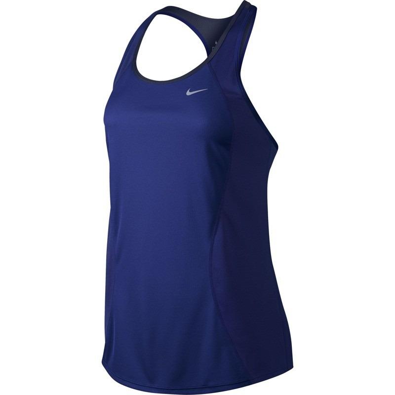 15cf66ea4d camiseta regata feminina nike esportiva azul original. Carregando zoom.