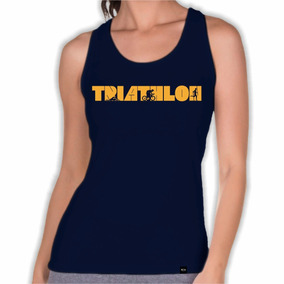 390e50e70e Camiseta Regata Triathlon no Mercado Livre Brasil