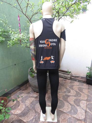 camiseta regata fitness jump masculina (academia)