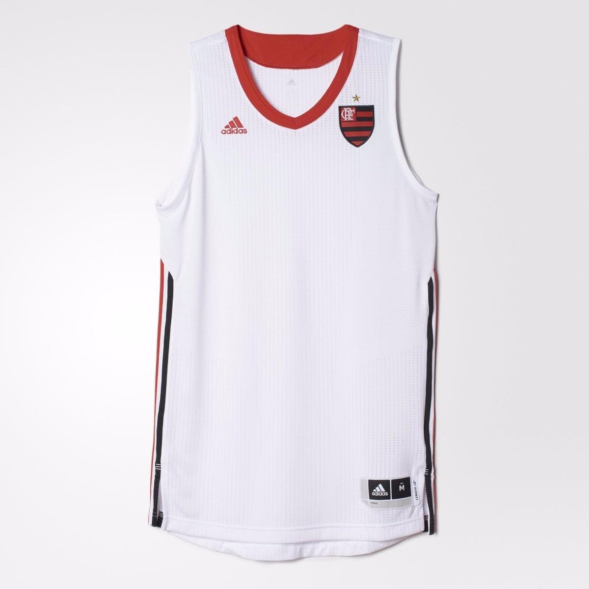 2d4452a830 Camiseta Regata Flamengo Basquete adidas Promoção Ai4776 - R  67