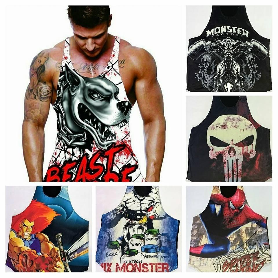 51ac81d57b899 Camiseta regata herois masculina academia musculação fitness carregando zoom  jpg 960x960 Herois camisetas cavadas masculinas