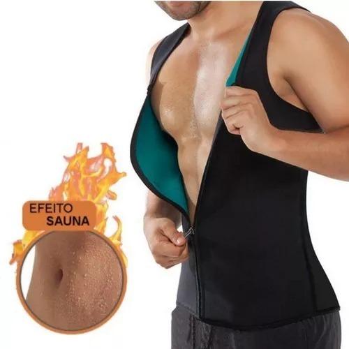 Camiseta Regata Hot Shaper Reduz Medidas Masculina C  Zíper - R  37 ... d5846f98153