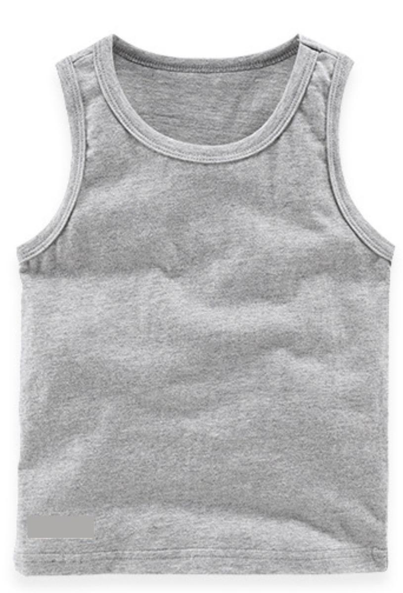 c120624909769 Camiseta Regata Infantil Lisa Kit 10 Peças - R  104