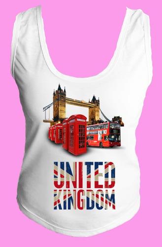 camiseta regata inglaterra reino unido londres united 08