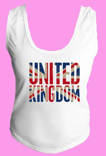 camiseta regata inglaterra reino unido londres united 12