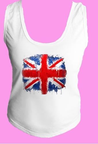 camiseta regata inglaterra reino unido londres united 16