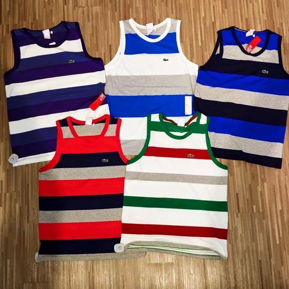 d8fc7f967af1f Camiseta Regata Lacoste Live - R  129,99 em Mercado Livre