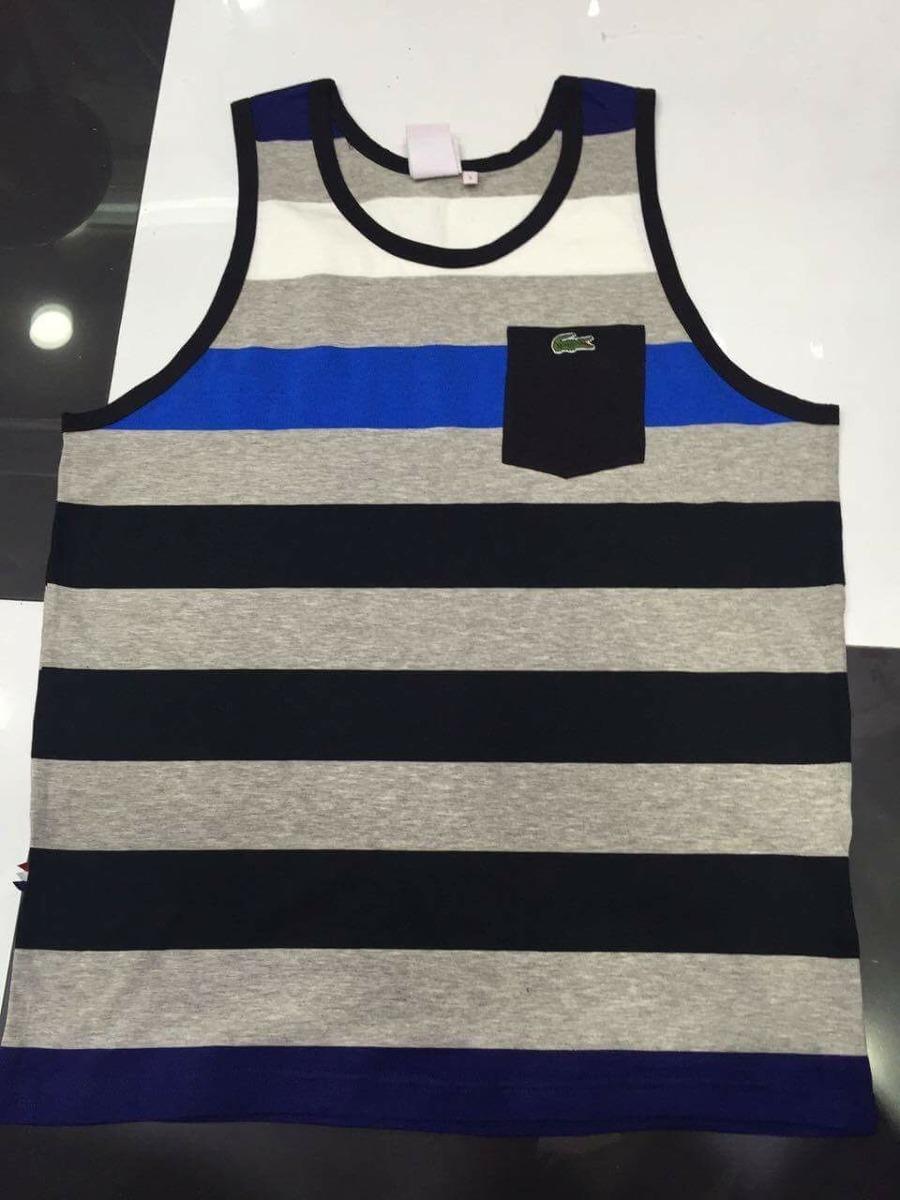 7622e3aee8eda Camiseta Regata Lacoste Live Original C  Bolso - R  139,00 em ...