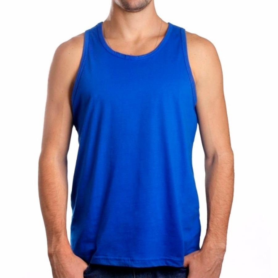 a66dce625419c camiseta regata lisa 100% algodão fio 30.1 penteado. Carregando zoom.
