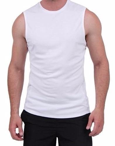 b0552b7e9 Camiseta Regata Machão Branca 100% Algodão-fio 30.1 - R  22