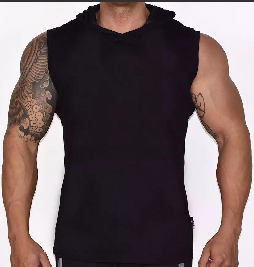 093fbeb20988e camiseta regata machão capuz lisa masculina melhor preço. Carregando zoom.
