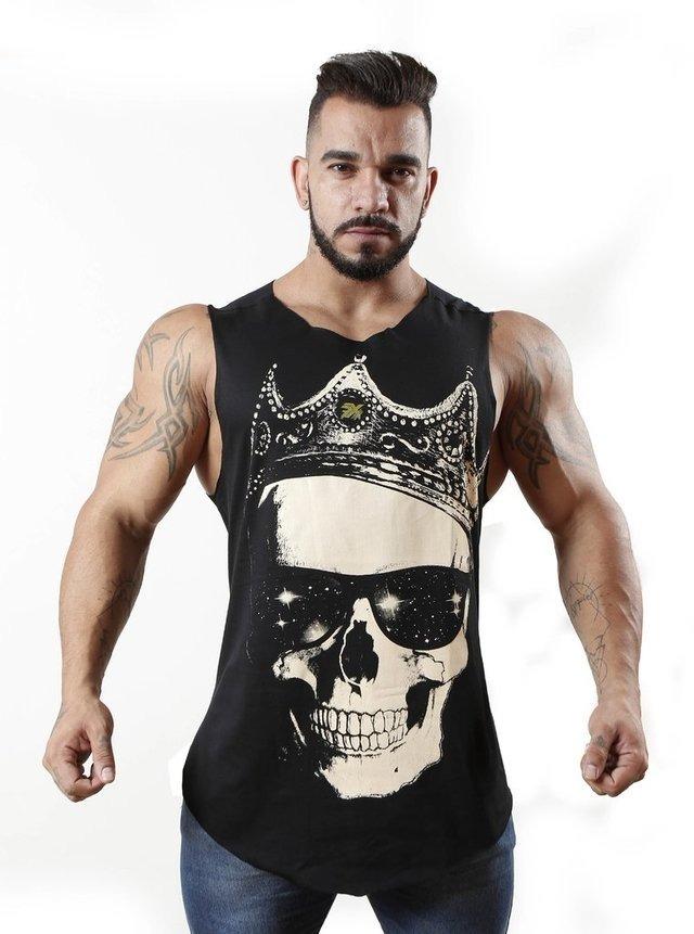 8a8bd99f5d1c3 camiseta regata machão ferax fitness academia musculação. Carregando zoom.