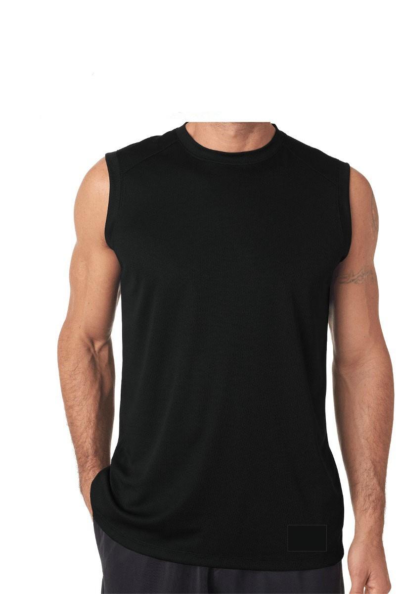 camiseta regata machão masculina malha lisa 100% algodão. Carregando zoom. efe2031ee85