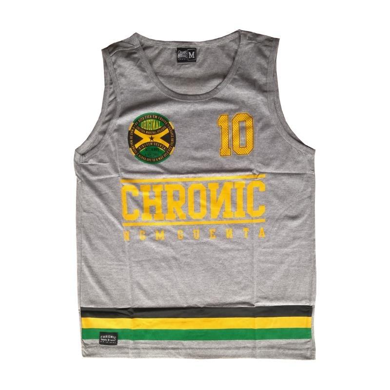 camiseta regata marca chronic basquete listras reggae. Carregando zoom. bbac184b174