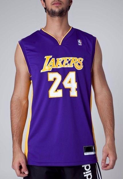 7c835a126 Camiseta Regata Masculina Basquete Times Lakers
