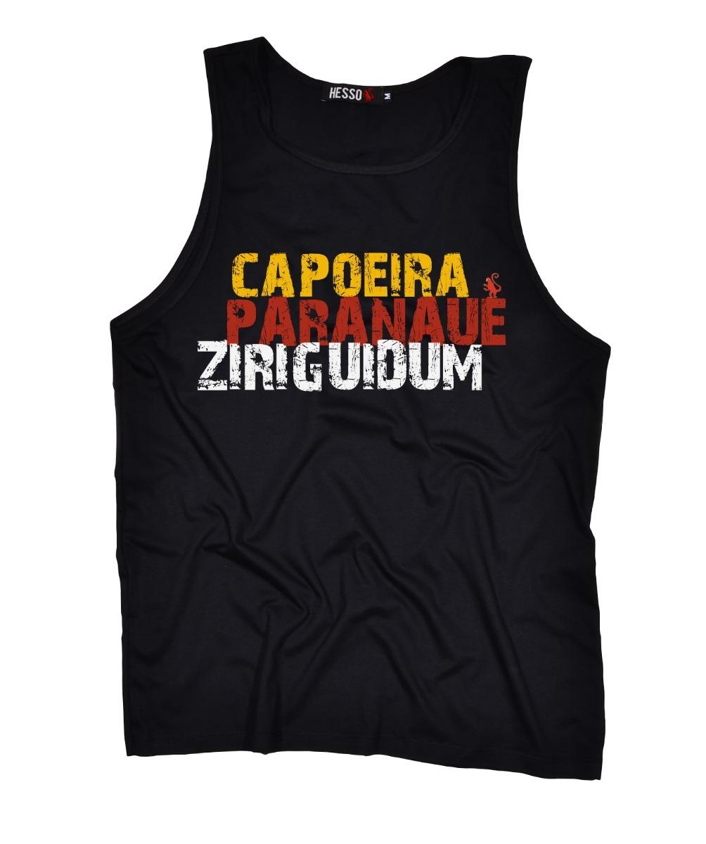 08a35d1d05 camiseta regata masculina branca ziriguidum personalizada. Carregando zoom.