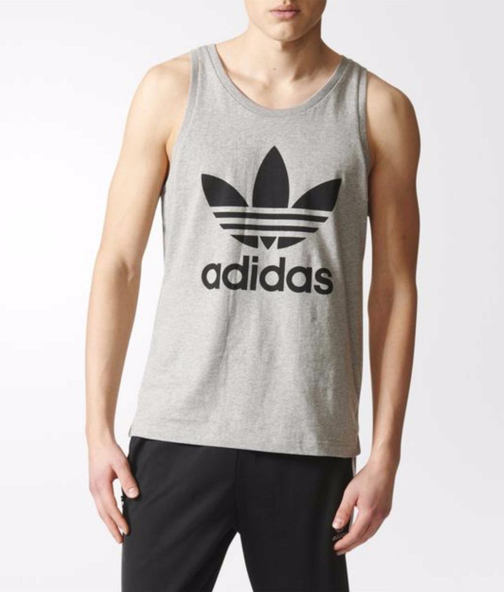 camiseta regata masculina camiseta regata cavada logo adidas. Carregando  zoom. 6b8aad63f11