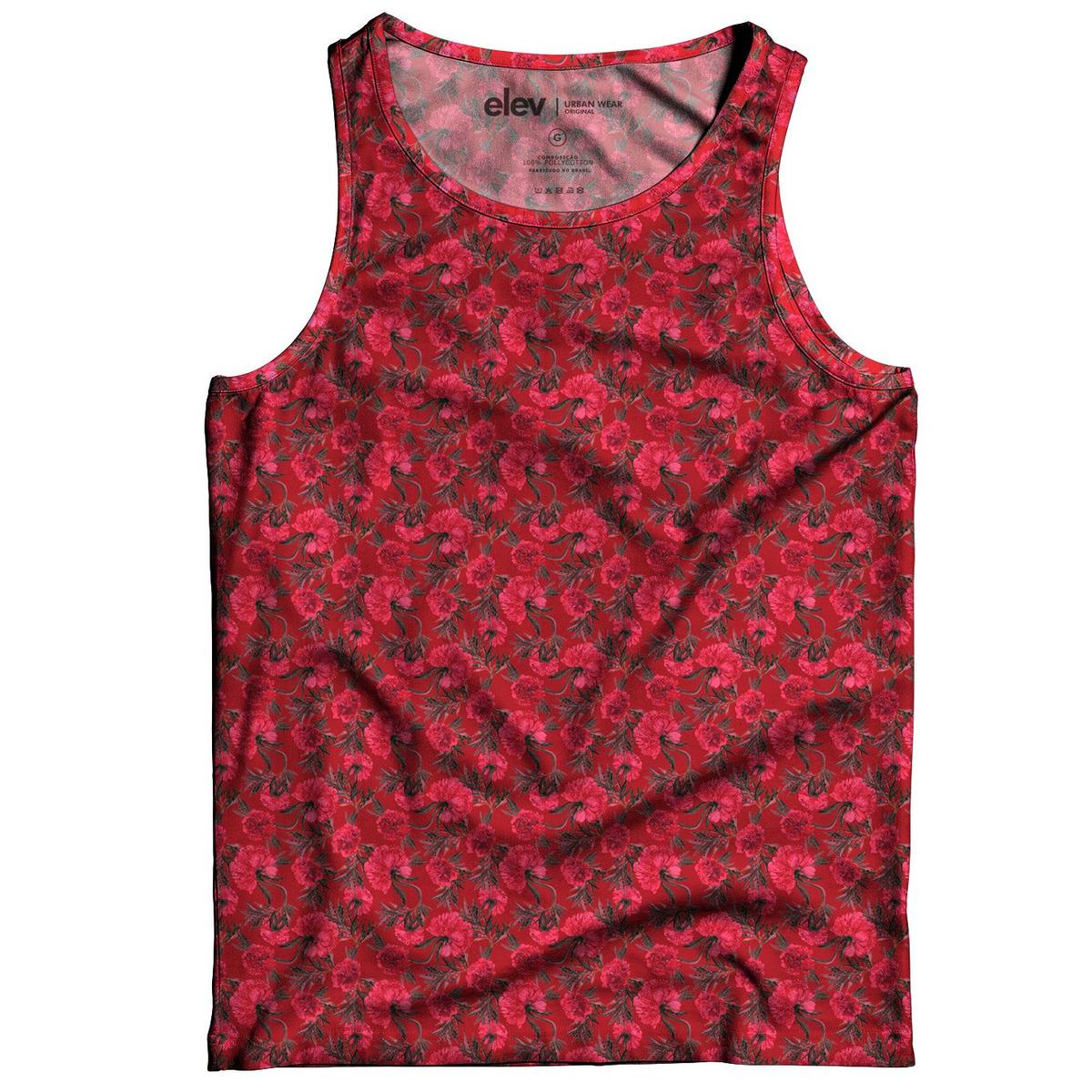 b1b1436ffb camiseta regata masculina floral praia - mais estilo. Carregando zoom.