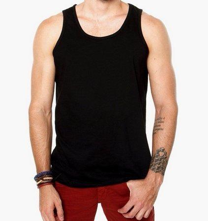 6e4a1940f Camiseta Regata Masculina Lisa 100 Algodão - R  14