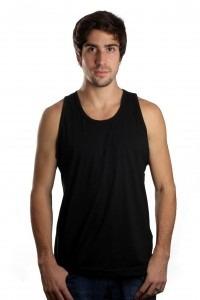 b613425772 Camiseta Regata Masculina Lisa Básica Sem Estampa Algodão - R  19
