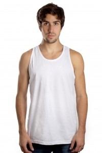20c0de993 Camiseta Regata Masculina Lisa Básica Sem Estampa Algodão - R  19