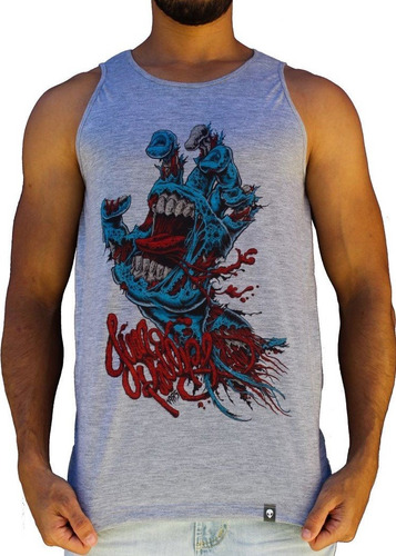 camiseta regata masculino