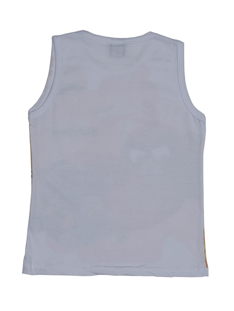 Camiseta Regata Angry Birds Infantil Para Menino - Branco - R  24 84fb5700fd7