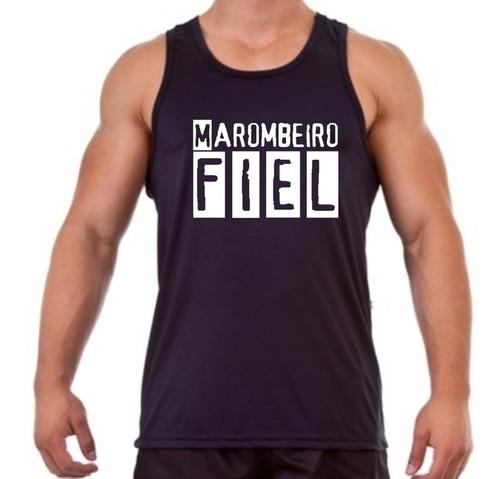 camiseta regata musculação marombeiro fiel