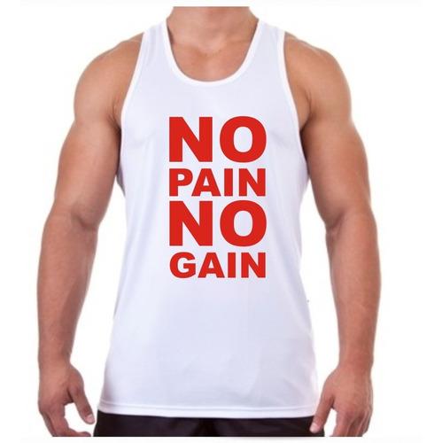 camiseta regata musculação no pain no gain 2