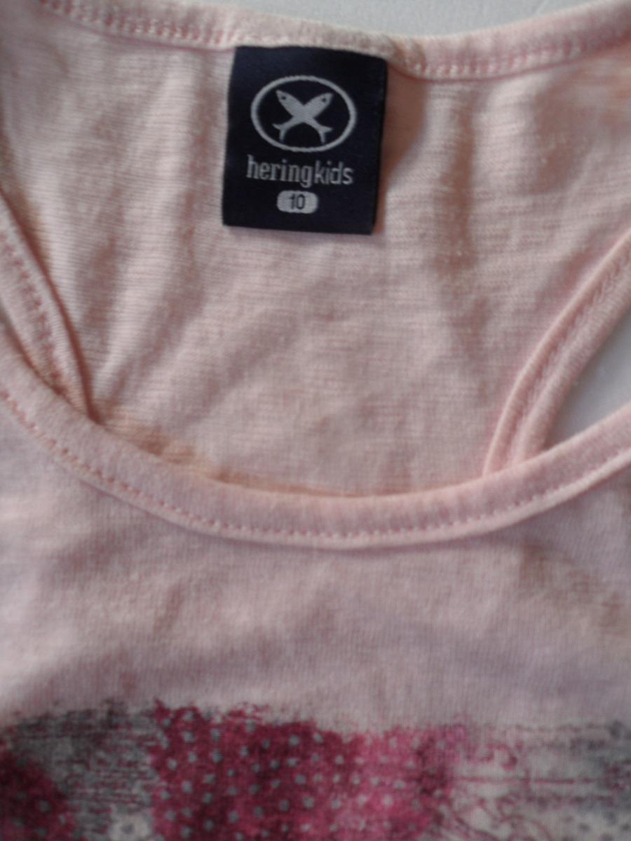 camiseta regata nadador hering kids infantil rosa 10 anos. Carregando zoom. 66cb5520a8d