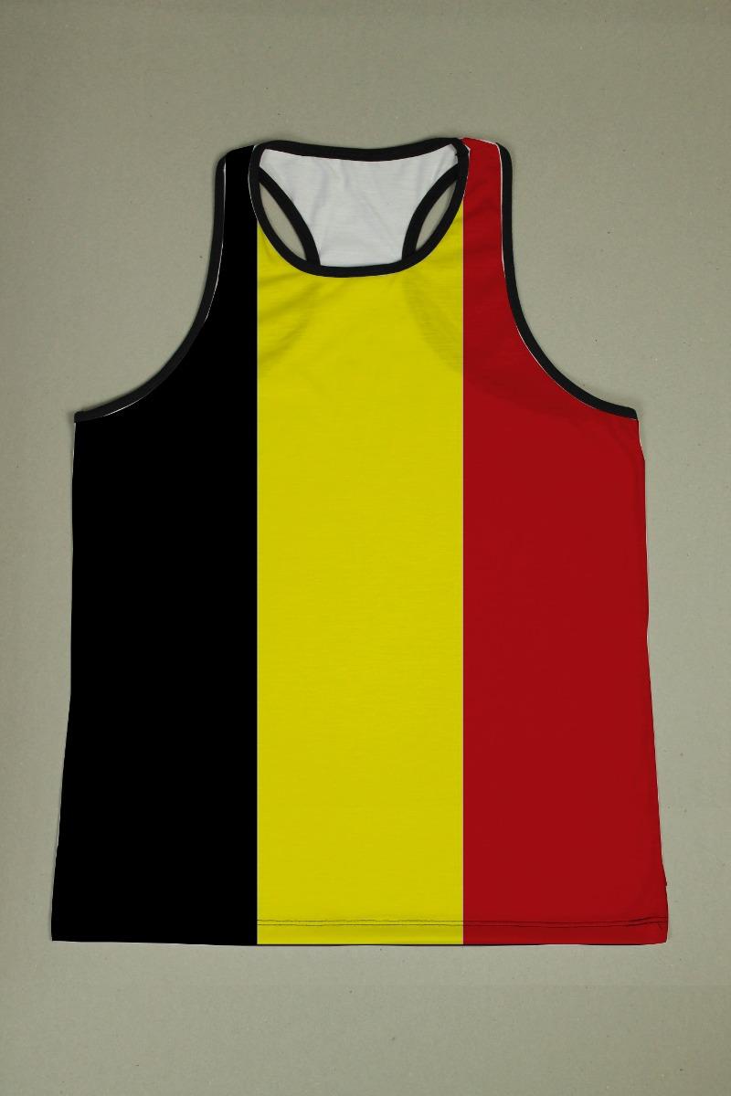 camiseta regata nadador masculina bélgica. Carregando zoom. 01523ea8f1a