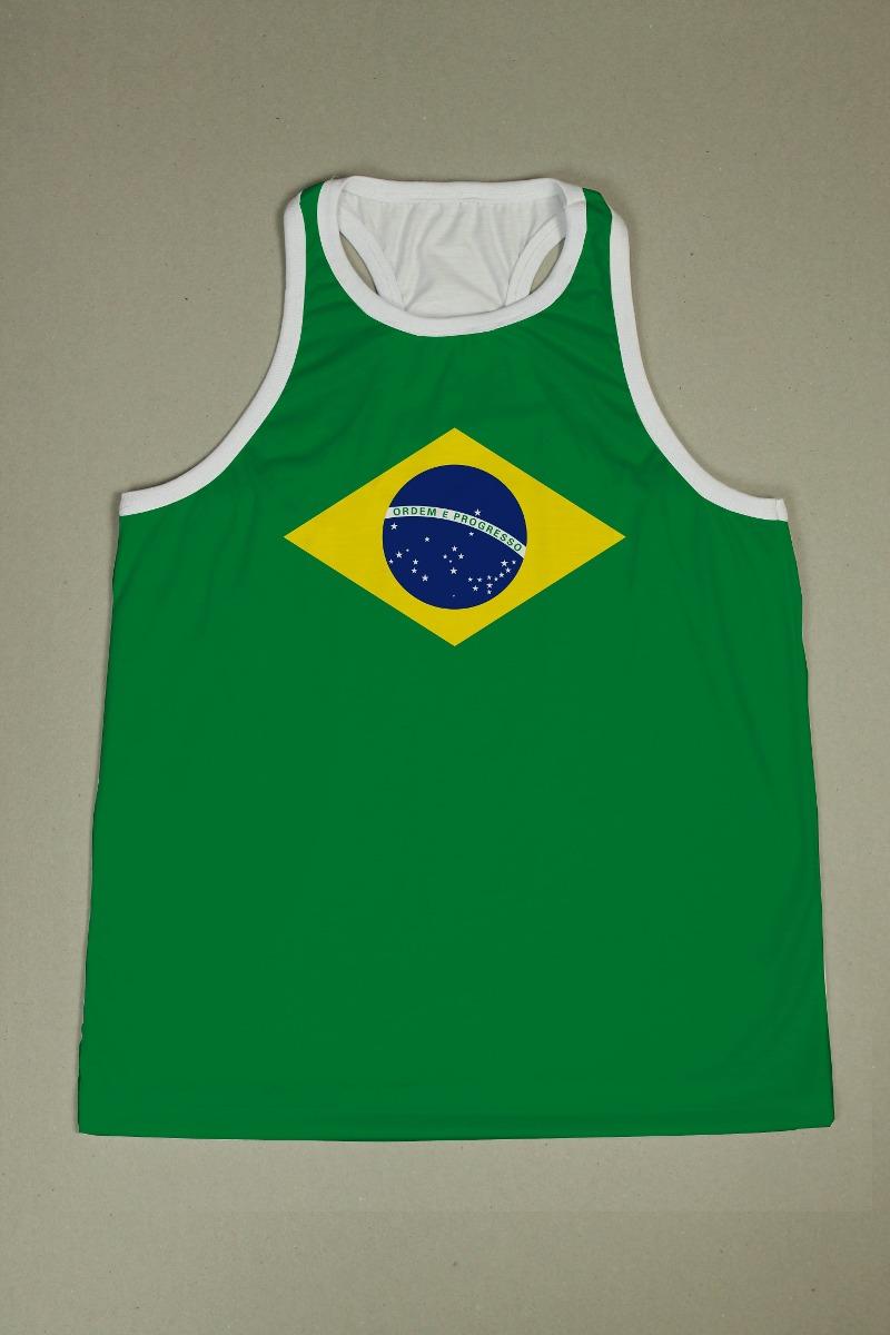 5115ea66816e5 camiseta regata nadador masculina - brasil. Carregando zoom.