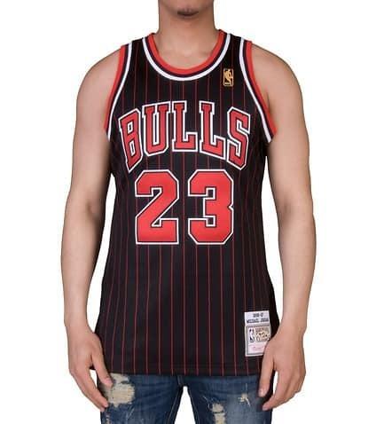 af752ac3f3 Camiseta Regata Nba Chicago Bulls Mitchell   Ness Jordan - R  269
