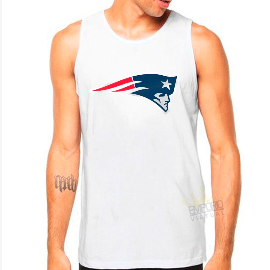 ecad673da camiseta regata new england patriots nfl. Carregando zoom.