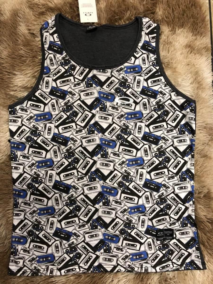 camiseta regata oakley elipse refletivo especial masculina. Carregando zoom. 44bc188fd7e