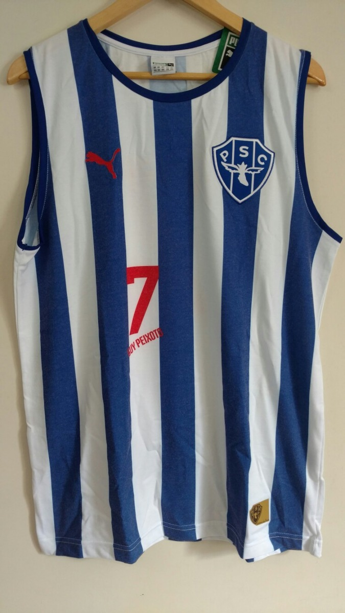 Camiseta Regata Original Puma Retro Basquete Paysandu - R  120 f3753b0b26ae0