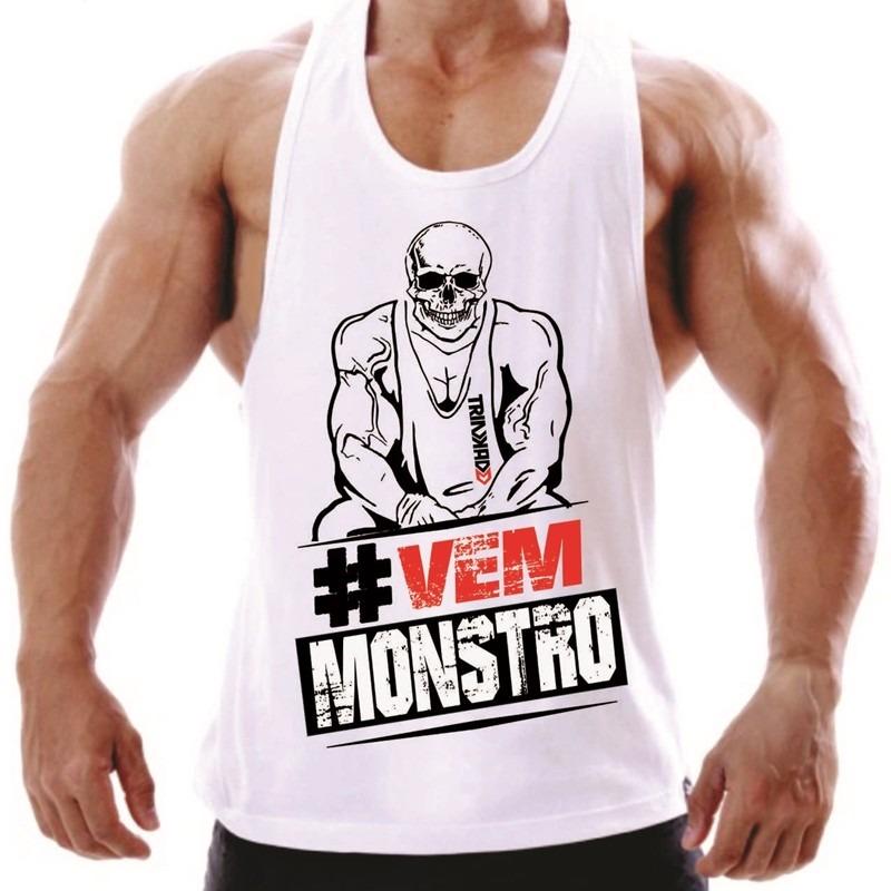 8979ed89b6f0c Camiseta Regata Para Academia Musculação E Treino