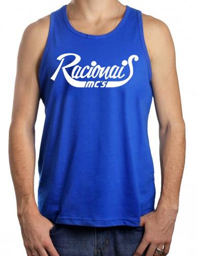 camiseta regata racionais versículo negro drama 5 cores