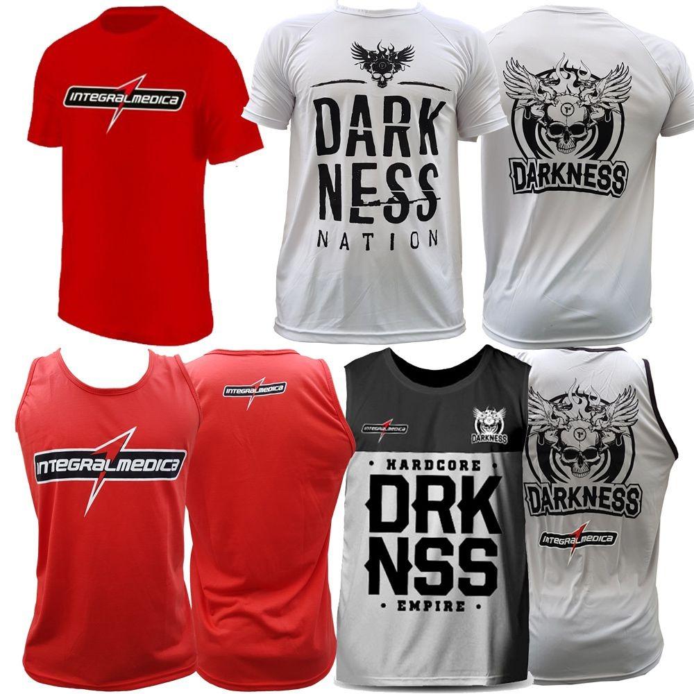 15ae0aaed1 Kit Camiseta Integral + Regata Integral + Regata + Camiseta - R  171 ...
