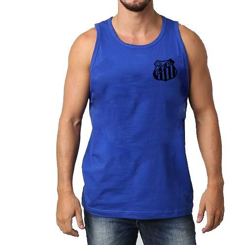 5924b411e2 Camiseta Regata Santos F.c A Melhor Do Ml Time