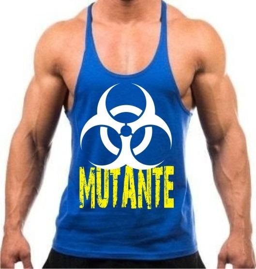Camiseta Regata Super Cavada Mutante P  Musculação Academia - R  25 ... 1448d2acc54