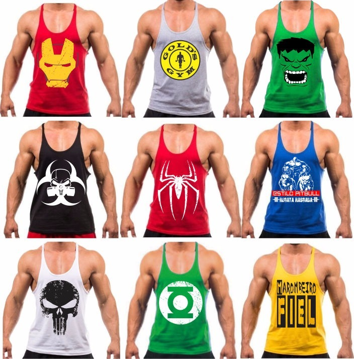 b87debaf5f Camiseta Regata Super Cavada Mutante P  Musculação Academia - R  25 ...